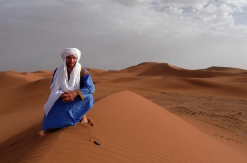 David_in_the_sahara_Morocco