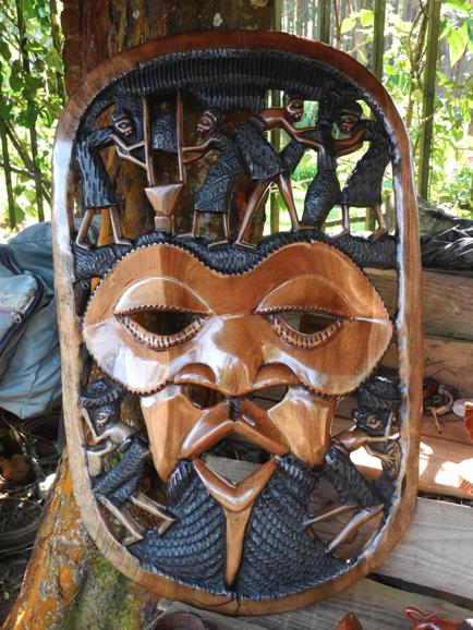 Large mask at Zomba market