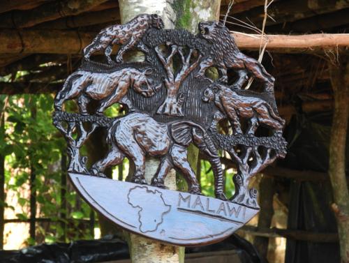 Zomba Plateau wooden crafts