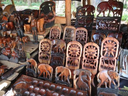 Zomba market stall