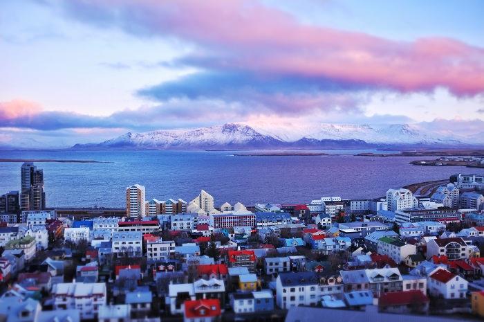 Reykjavik from Hallgrimskirkja 2