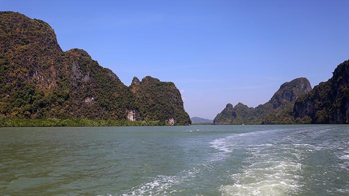 Boat Tour of Phang Nga Bay