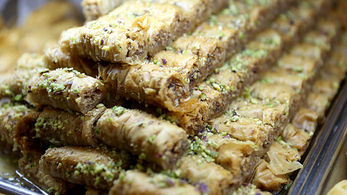 Baklava_kalymnos_classic and traditional greek dishes