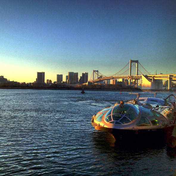 Boat-to-Odaiba