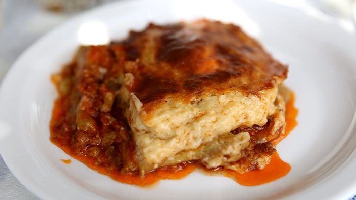 Moussaka_classic and traditional greek dishes