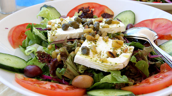 Salad_Santorini_classic and traditional greek dishes