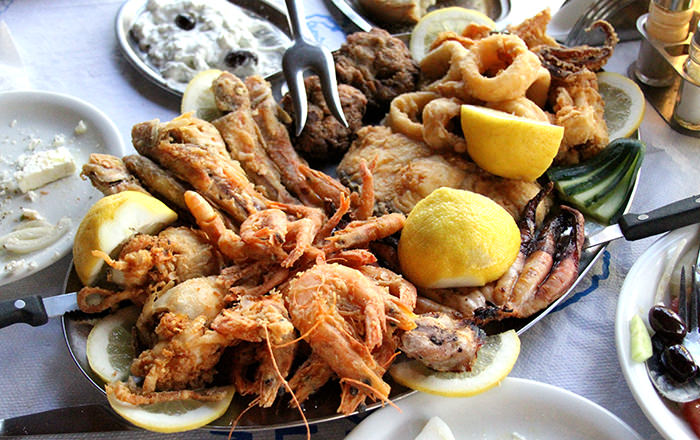 seafood platter_classic and traditional greek dishes