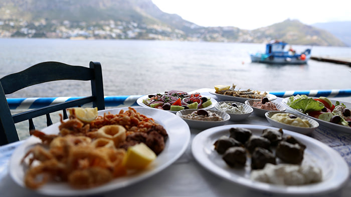 Seafood spread_telendos_classic and traditional greek dishes