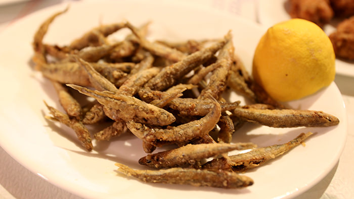 fried sardines_classic and traditional greek dishes