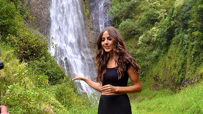 Courtney Scott Jurassic Falls Kauai