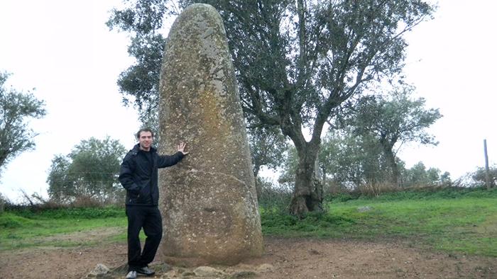 Almendres Menhir_Evora_Portugal_Davivdsbeenhere