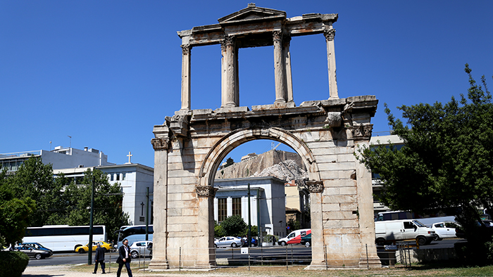 Hadrians_ArchAthens_Greece_Europe_Davidsbeenhere
