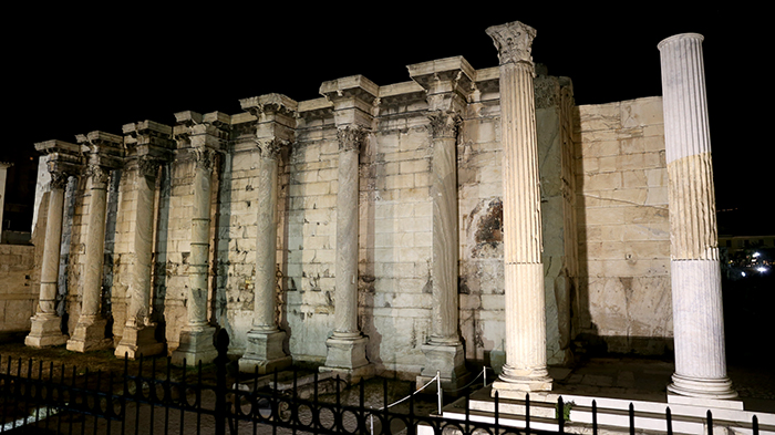 Hadrians_Library_Athens_Greece_Europe_Davidsbeenhere