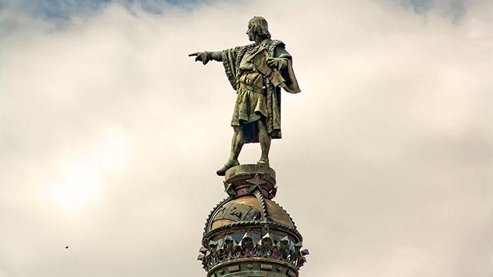 Monument_of_Christopher_Columbus_Barcelona_Catalunya_Spain_Europe_Davidsbeenhere