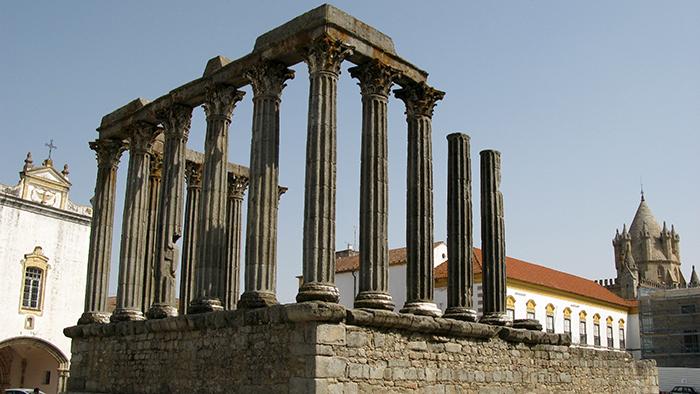 Roman Temple of Diana_Evora_Potugal_Davidsbeenhere2