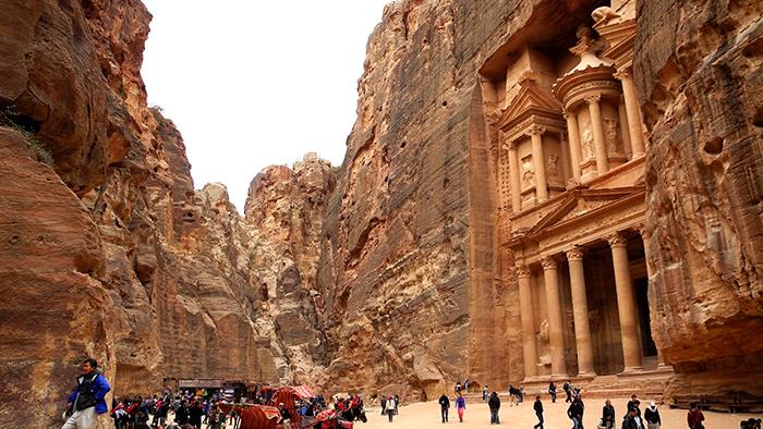 As_Khazeneh_Treasury_Jordan_Middle_East_Davidsbeenhere