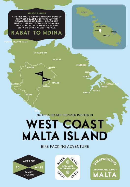 MALTA-Wesy Coast Malta Island