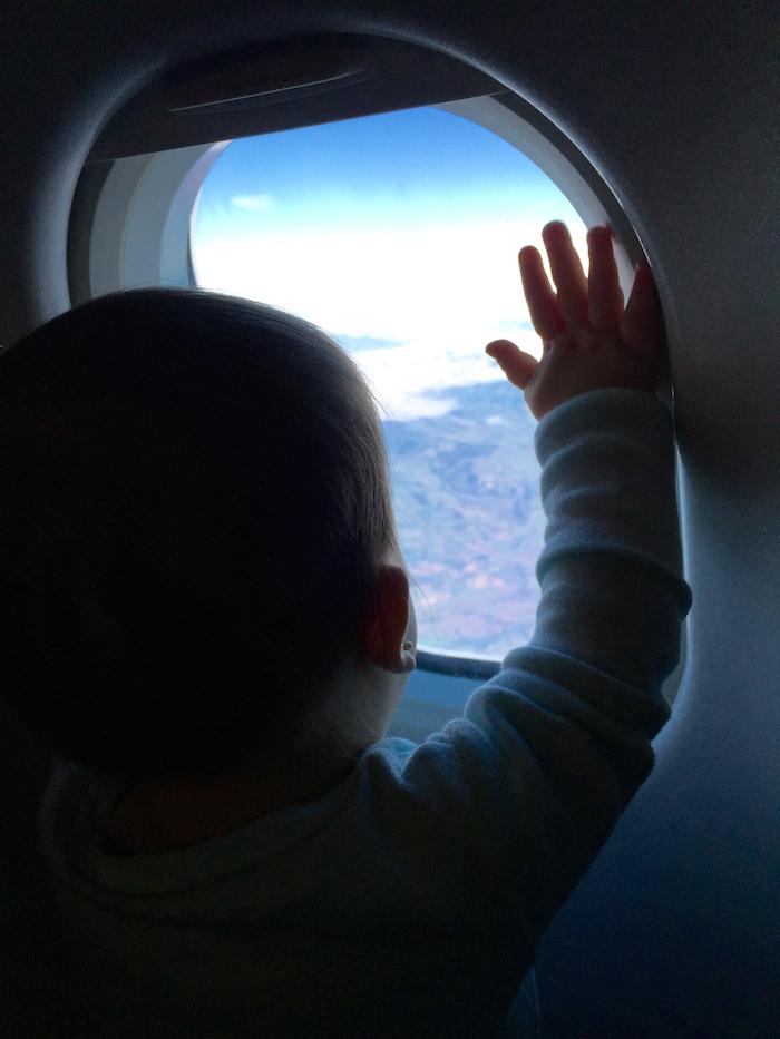 babyinplane